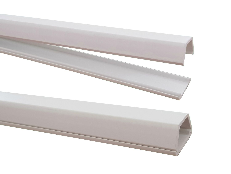 1m kabelkanal 15x10mm innenma selbstklebend versch farben verbinder verf gbar kabel. Black Bedroom Furniture Sets. Home Design Ideas