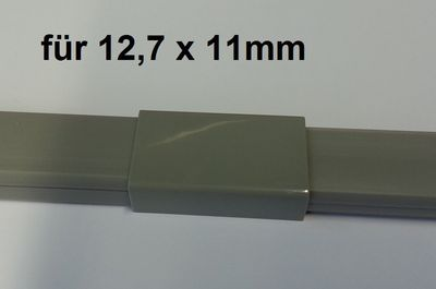 "Wire duct 12,7x11mms Connector ""mid-way"" – image 1"