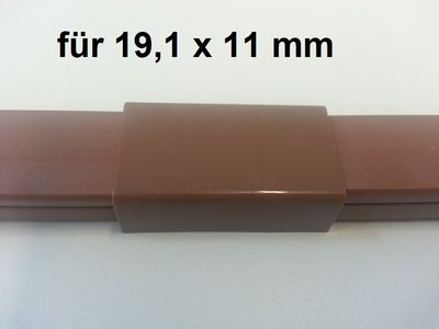 "Wire duct 19,1x11mms Connector ""mid-way"" – image 4"