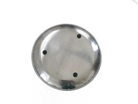 AKTION Deko Metallteller, Teller silber glänzend 32 cm Durchmesser – Bild 3