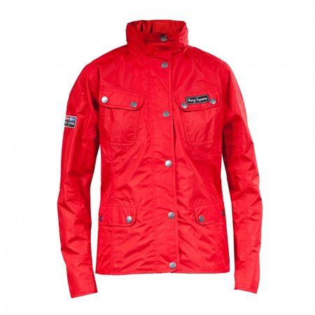 Atmungsaktive Damen Funktions - Jacke wasserdicht, Farbe rot, Größe 34 - 44