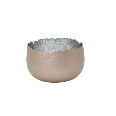 Sparkling Tea Light Holder Lantern Deco Bowl Metal silver 8x6cm small diff. colours – image 5