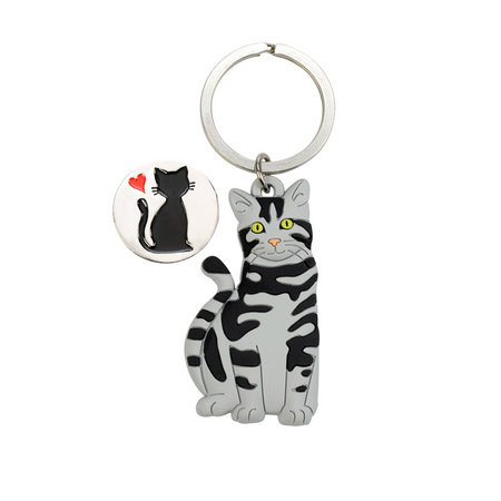 Tierfiguren Schlüsselanhänger mit Chip für Einkaufswagen aus Weichgummi Auswahl – Bild 6
