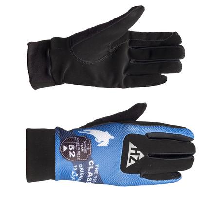 Reit Handschuhe mit super Griffgefühl blau/dunkelblau