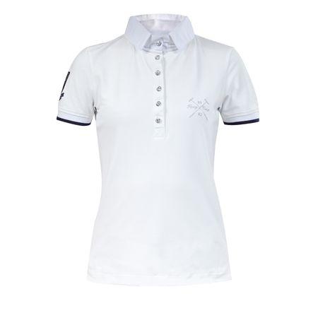 Damen Turniershirt mit 3 verschiedenen Kragen Variationen, Turnier T-Shirt – Bild 1