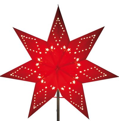 Christmas Star for lamps or hanging 43 cms seven-pointed