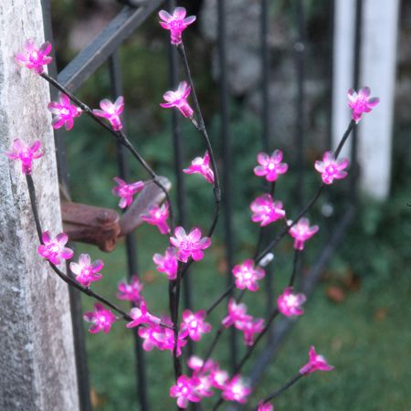 SALE !! LED Blossom Branch pink or white 100 x 50 cms illuminated indoor and outdoor – image 8