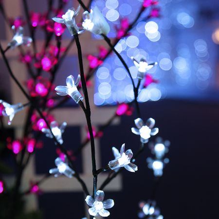 SALE !! LED Blossom Branch pink or white 100 x 50 cms illuminated indoor and outdoor – image 3