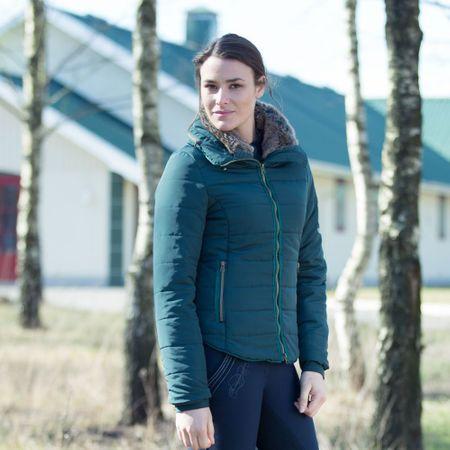 Elegante Damen Jacke gefüttert wasserabweisend und winddicht in tollen Farben – Bild 8