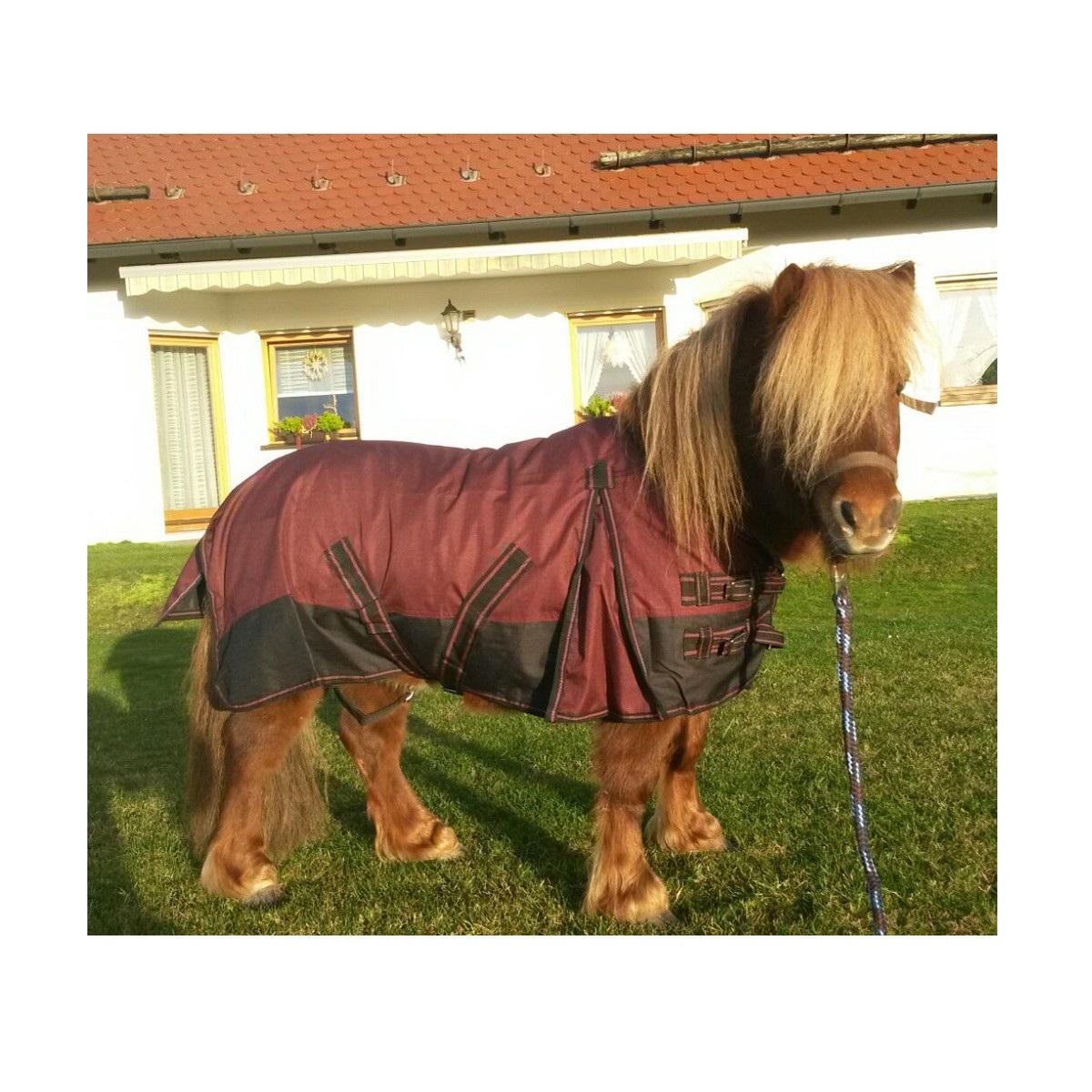 Pony Decken: Pferde Outdoor Regendecke Ungefüttert Falabella/Mini