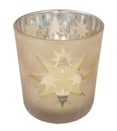 Windlicht Teelichthalter aus Glas Herbst/Winter – Bild 19