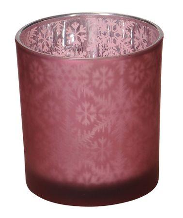 Tea Light Holder Glass Lantern Autumn/Winter – image 25