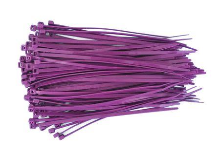 100 x Kabelbinder verschiedene Längen und Farben – Bild 3