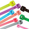 100 x Cable Tie various lengths and colours 001
