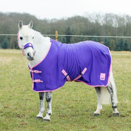 Falabella, Mini Shetty, Shetty, Pony schöne Fleece Abschwitzdecke versch. Farben – Bild 1