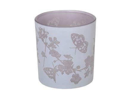 Beautiful Tea Light Holder bird motive glass lantern 8x7 cms various colours – image 14