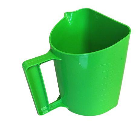 GEWA Messbecher Futterschaufel mit Skala Ausgießer Henkel 2 Liter – Bild 6