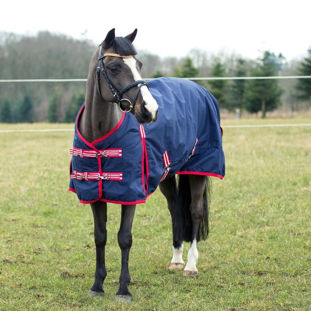 Pony Decken: AKTION Shetty Winterdecke Outdoordecke Gefüttert 75 Rot