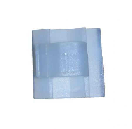 25 x Kabel Klebesockel Clip 26x26mm selbstklebend – Bild 1