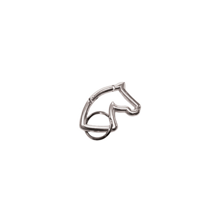 Schlüsselanhänger Aluminium-Karabiner Pferdekopf Auswahl – Bild 5