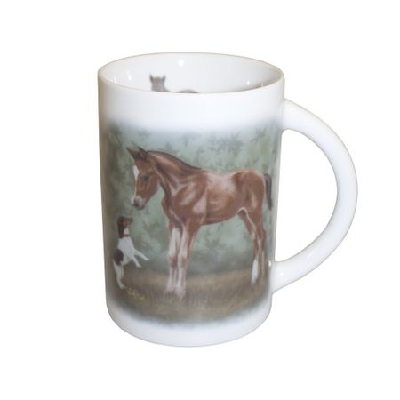 Designer Cup Coffee Cup Tea Cup Horse Cup Bötzel diff. horse motives – image 15