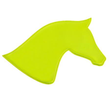 Sicherheit Reflektierende Pferde Aufkleber Gelb Intensive Leuchtkraft – Bild 3