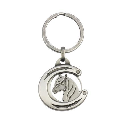 Tierfiguren Schlüsselanhänger mit Chip für Einkaufswagen aus Metall Auswahl – Bild 10