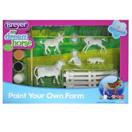 Breyer My Dream Horse Activity Set verschiedene Pferde zum Bemalen und Spielen – Bild 15