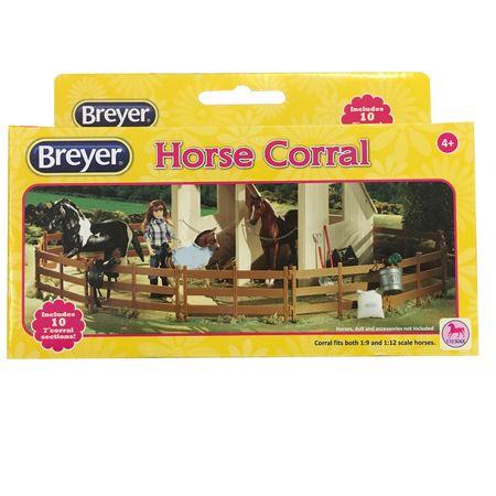 Breyer Classics Pferde Koppel 10 Zaunteile – Bild 1
