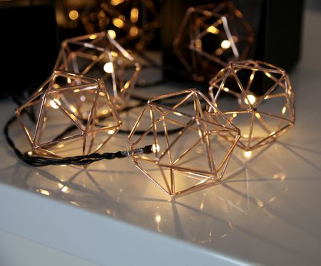 LED Chain of Lights Edge archimedian body decahedron with 10 lights indoor – image 4