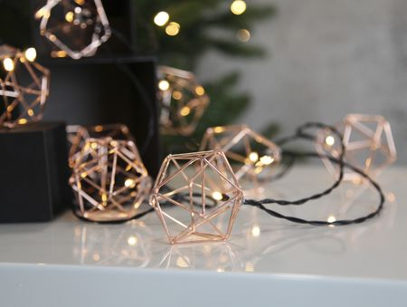 LED Chain of Lights Edge archimedian body decahedron with 10 lights indoor – image 3