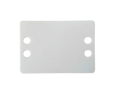 100 x Markierplättchen 64 x 44 mm, Stärke 0,4 mm – Bild 1