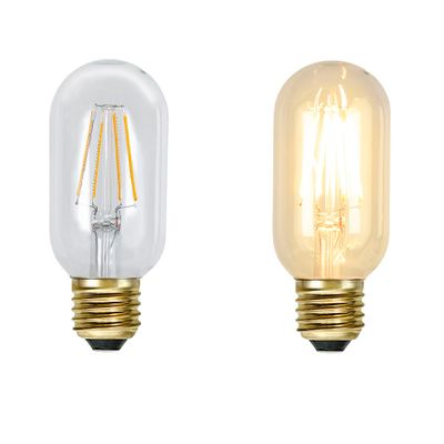 Deco Light Bulb LED E17 dimmable for textile cable with retro socket - select type – image 2