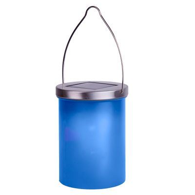 LED Solar Lantern with accumulator outdoor various colours – image 2