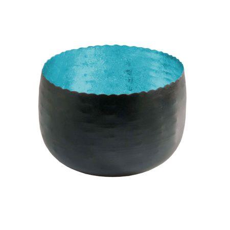 Deko Windlicht Teelichthalter aus Metall schwarz 8x5 cm Auswahl – Bild 2
