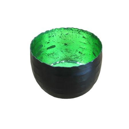 Deko Windlicht Teelichthalter aus Metall schwarz 8x5 cm Auswahl – Bild 9