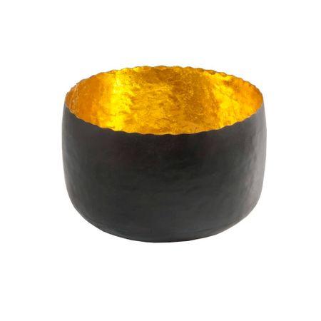 Deko Windlicht Teelichthalter aus Metall schwarz 8x5 cm Auswahl – Bild 8