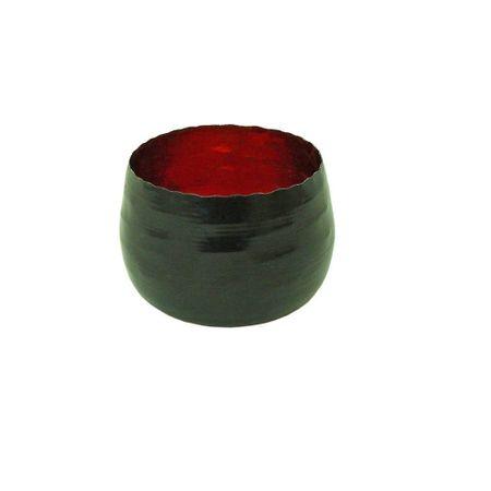 Deko Windlicht Teelichthalter aus Metall schwarz 8x5 cm Auswahl – Bild 3
