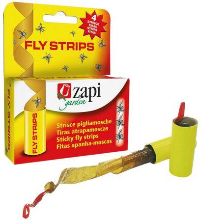 AKTION Klassiker Fliegenfänger mit Kleber Insektenschutz ohne Gift (4 Stück) – Bild 1