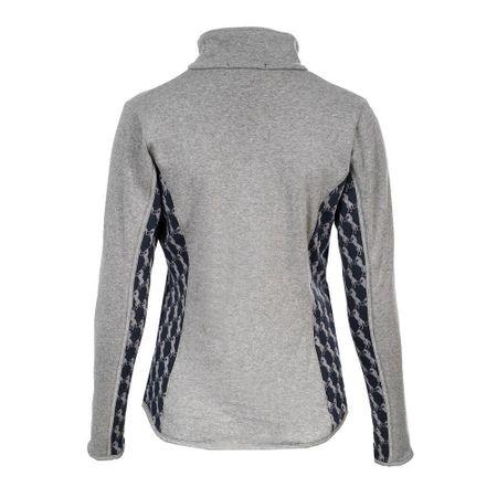 Modische Damen Sweatshirt Jacke Damenjacke mit Fleecefutter Farbauswahl – Bild 3