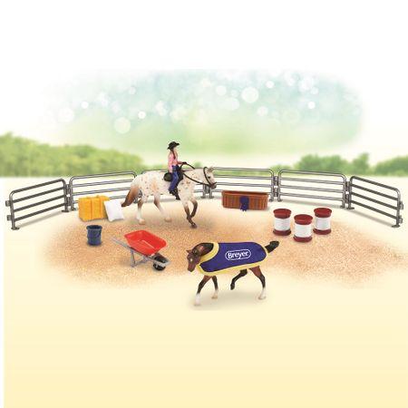 Breyer Stablemates Spielset Pferde und Reiter mit schönem Zubehör Auswahl – Bild 3