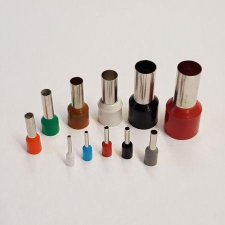 100 x Aderendhülsen isoliert Querschnitt und Farbcode bitte wählen