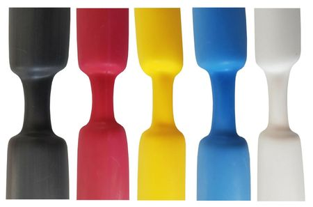 Heat-shrinkable tube with glue 3:1 (water-resistant) different sizes/colours – image 1