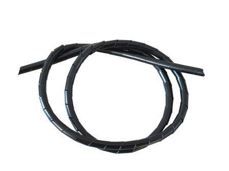 Spiral wrapping 1,5mm up to150mm diameter, natural and black – image 1