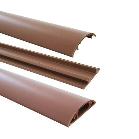 1m Fußboden Kabelkanal PVC oder ALU selbstklebend in verschiedenen Breiten – Bild 6