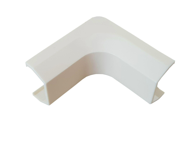 Farbe Kabelkanal:weiss Gr/ö/ße Kabelkanal Verbinder:15x10mm-Aussenecke Verbinder f/ür Kabelkanal Auswahl Typ und Farbe