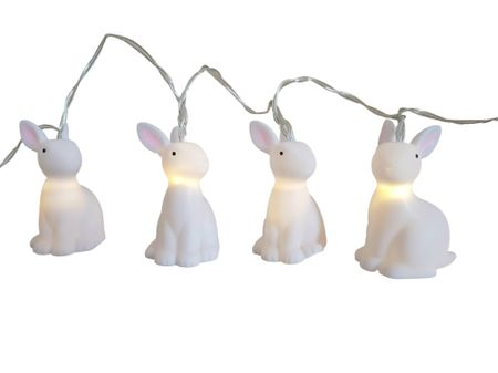 LED Battery Chain of Light Angel, Rabbit or Unicorn 10 Lights warm white Indoor – image 4