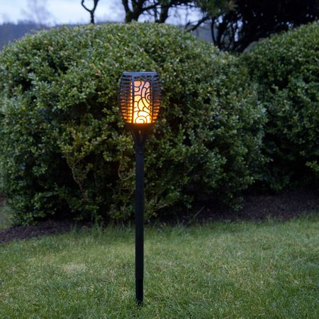 LED Solar Torch with Flame Imitation Garden Light with accu Outdoor – image 7