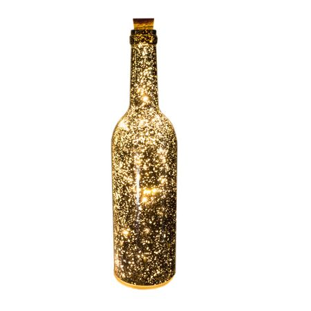 LED Batterie Lichtflasche Leuchtflasche Flasche mit 8 LED Farbauswahl Indoor – Bild 4