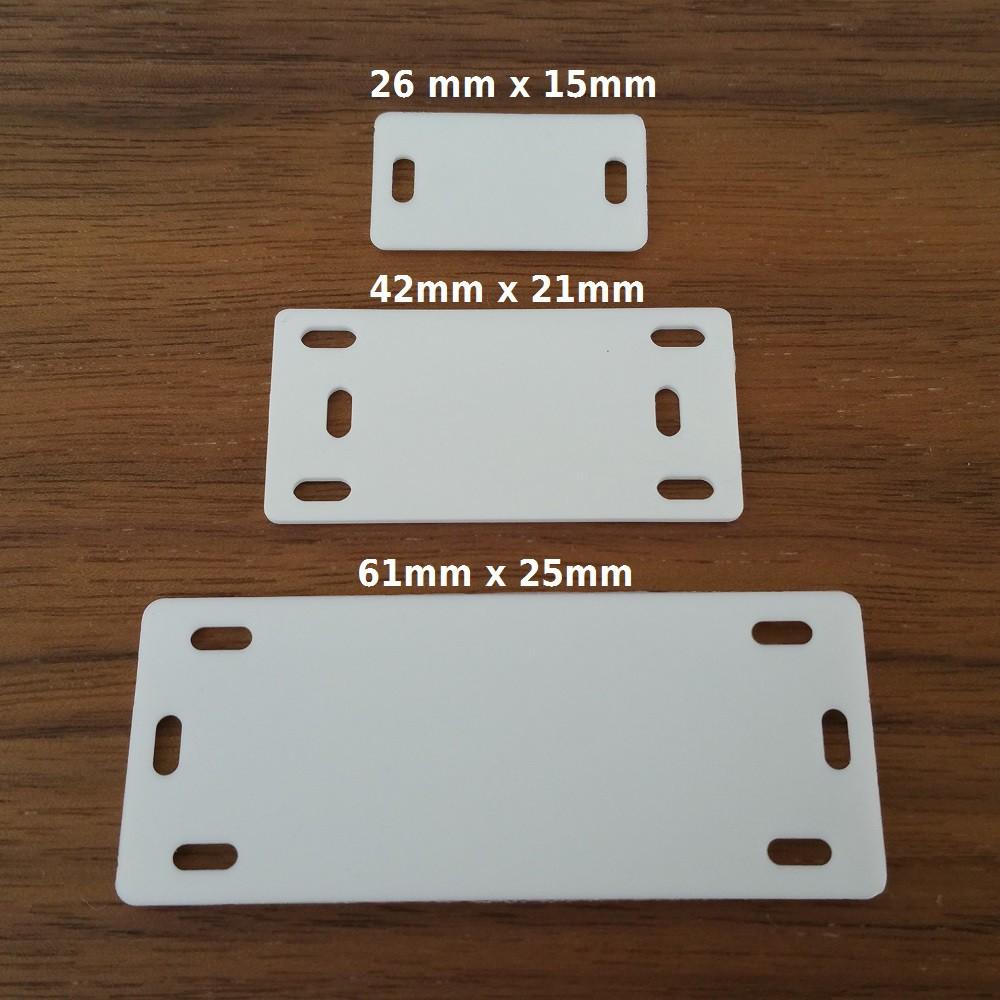 Markierplättchen für Kabel verschiedene Größen